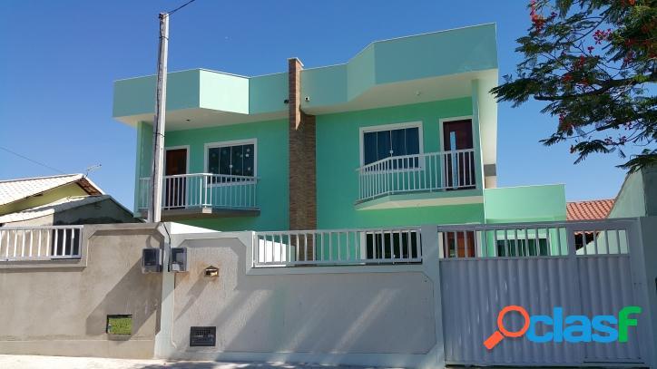Casa com 3 quartos em pontinha - araruama - rj.
