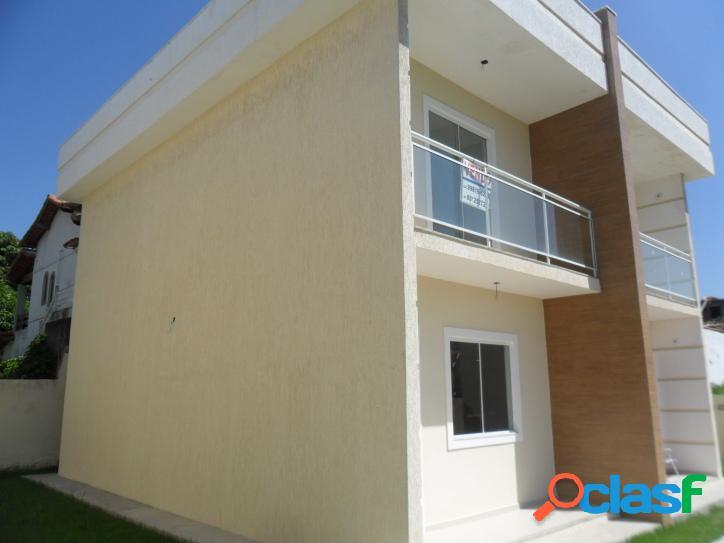 Linda Casa Duplex a venda tem 70 m2 e 2 quartos(sendo 1 com sacada) em Iguabinha - Araruama - RJ. 1