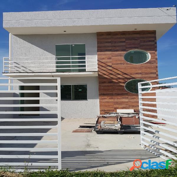 Casas novas de ótimo acabamento, 2 Quartos, sala com cozinha americana, 2 banheiros 1