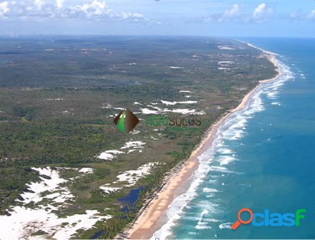 Fazenda 1.700ha beira mar