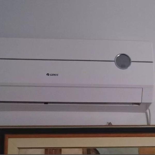 Ar condicionado split hi wall 9000 btus quente frio