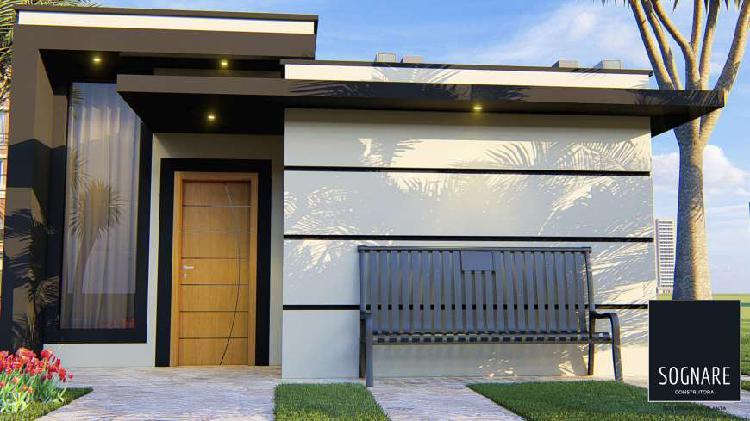 Casa com 3 quartos à venda, 70 m² por r$ 265.000 cod.