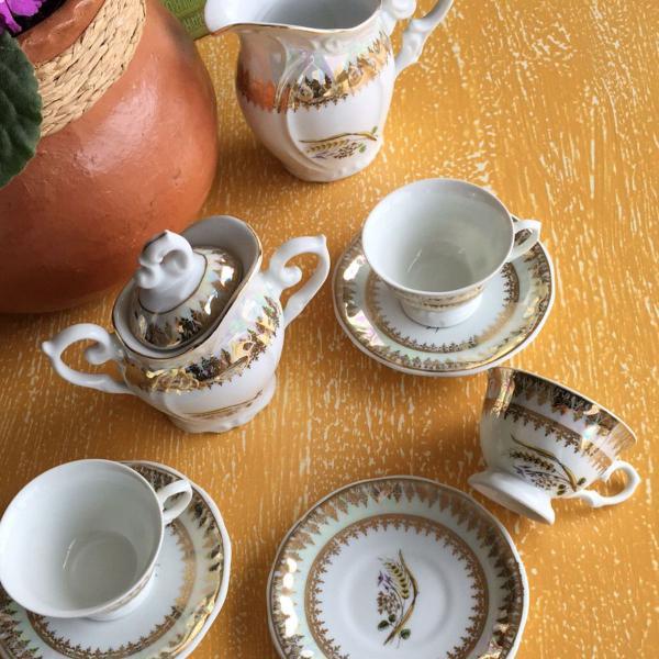 Jogo de chá anos 60