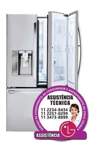 Troca ou reparos em filtro d'água refrigeradores side by