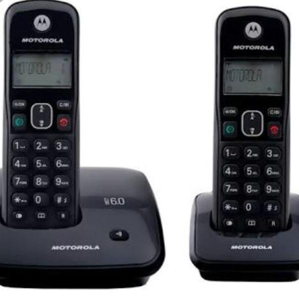 Alô alô! telefone mororola sem fio auri 2000