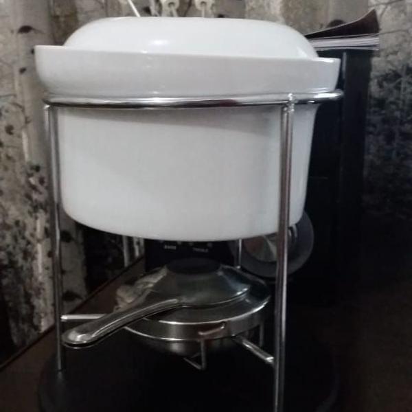 Aparelho fondue para chocolate quente- novo nunca usado