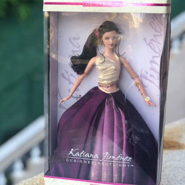 Barbie edição limitada katiana jiménez