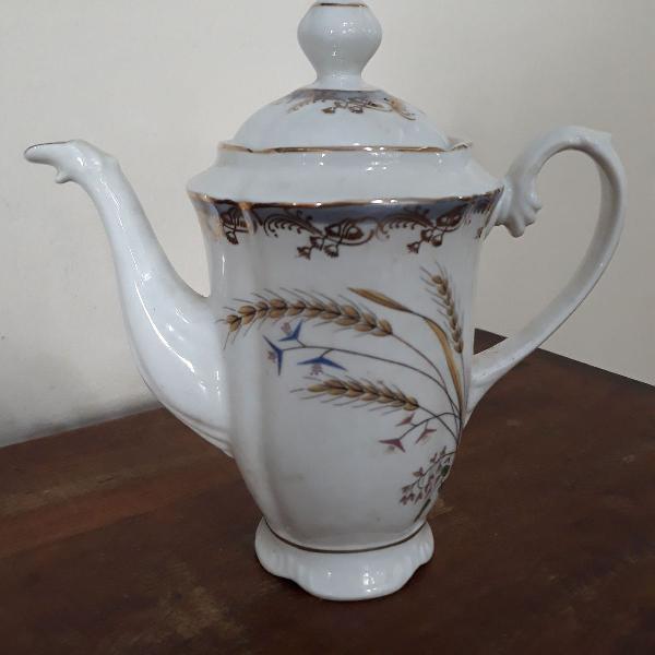 Bule café porcelana real sao paulo