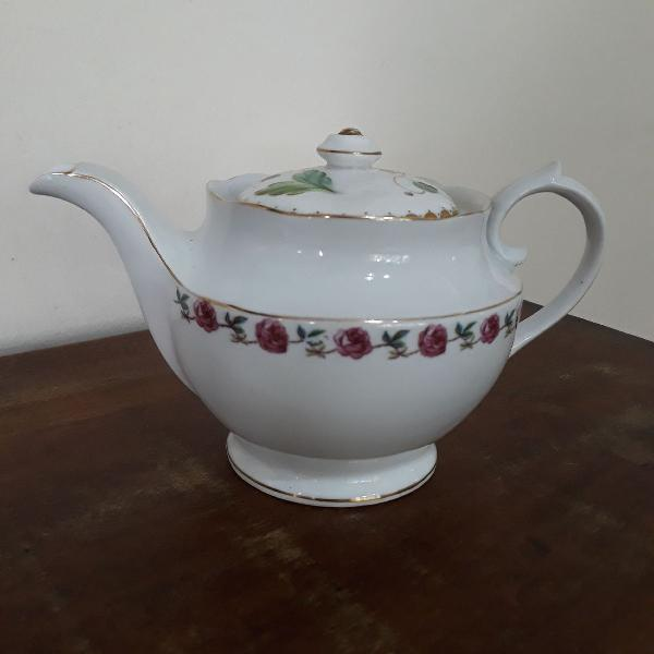 Bule de chá porcelana real são paulo