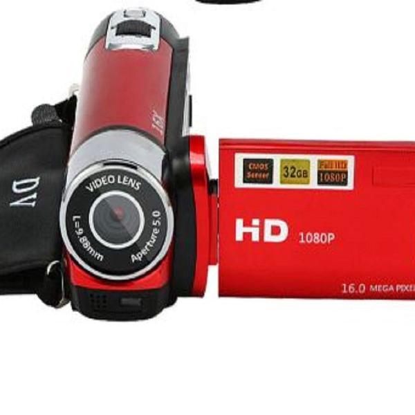 Camera e filmadora digital video recorder 16mp dvc hd