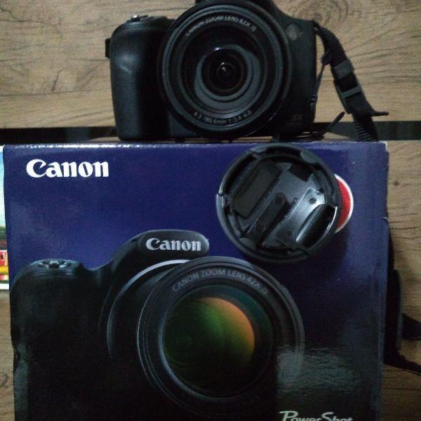 Câmera canon semiprofissional powershot