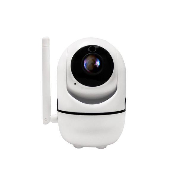 Câmera ip robô com monitoramento detector movimento wifi