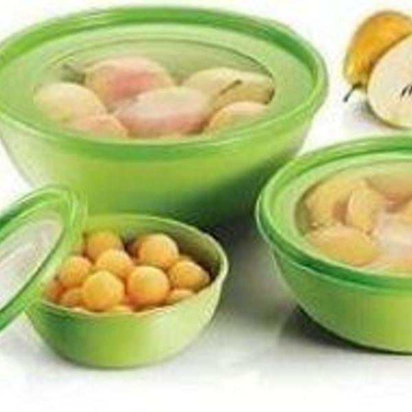 Conjunto 3 bowls innovaware verde