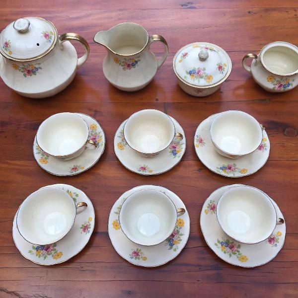 Conjunto chá inglês - antiguidade