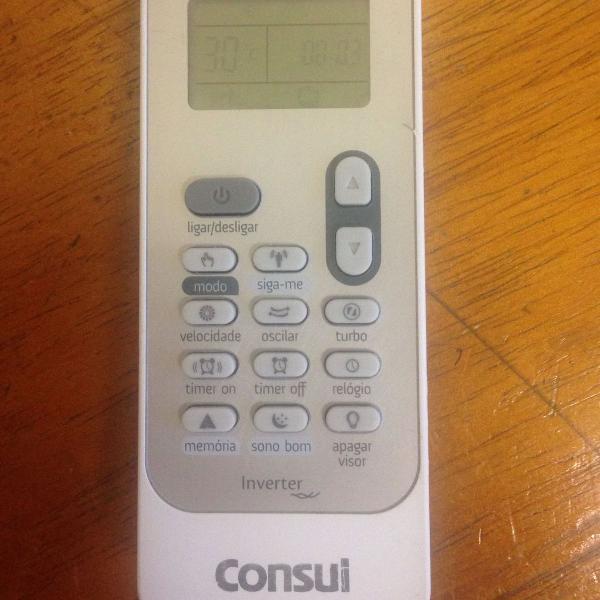 Controle remoto do ar condicionado consul