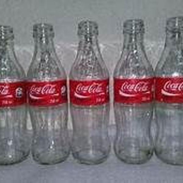 Garrafas de vidro de coca cola retro 200 ml