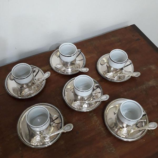 Jogo café prata bellini