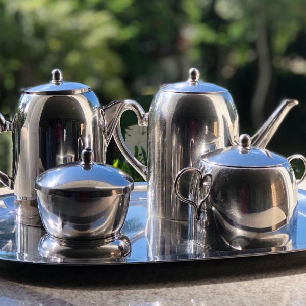 Jogo de café e chá fracalanza
