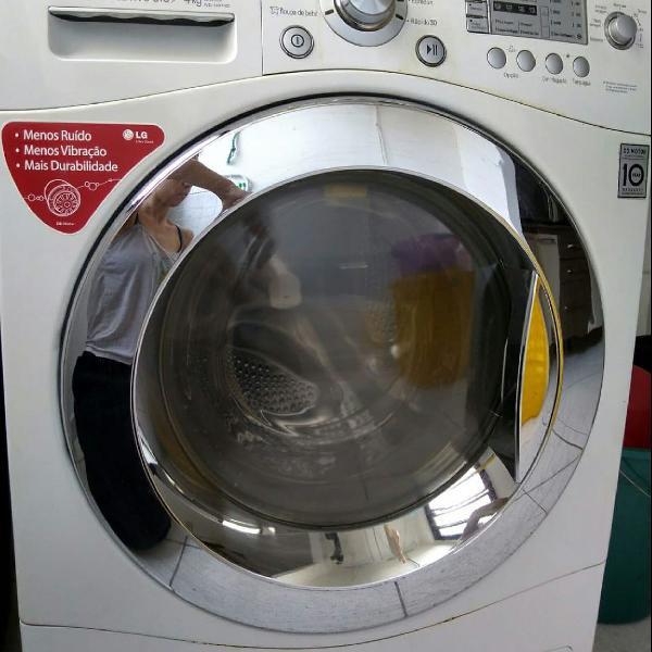 Maquina lava e seca lg branca 8 kilos