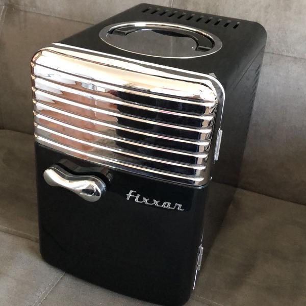 Mini refrigerador e aquecedor retro fixxar