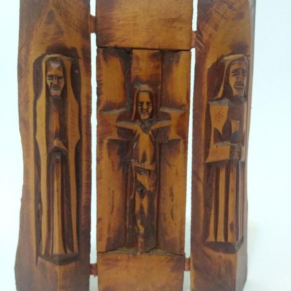 Oratório de viagem em três faces