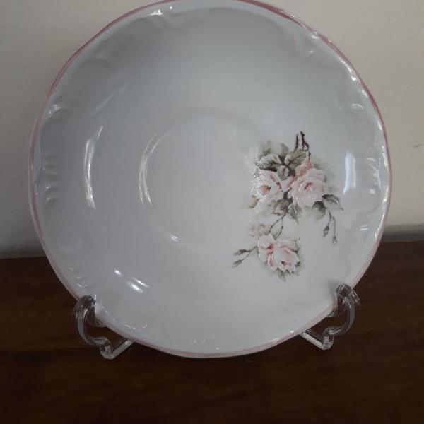 Porcelana schmidt motivo floral