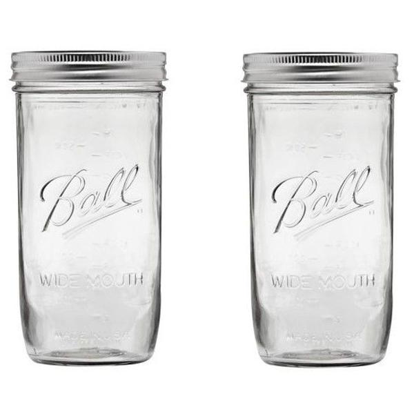 Porta alimentos porta temperos de vidro jarra ball mason