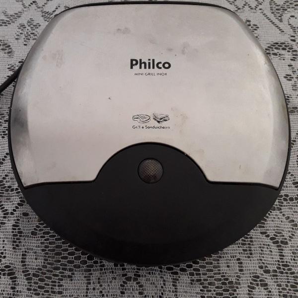 Sanduicheira inox philco 110v