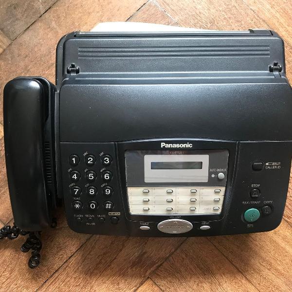 Telefone e fax panasonic kx- ft901