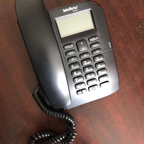 Telefone fixo intelbras tc 60 id
