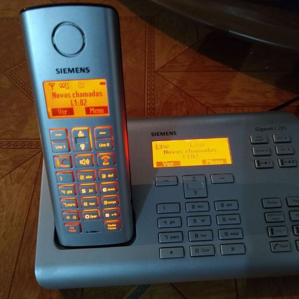 Telefone sem fio viva voz