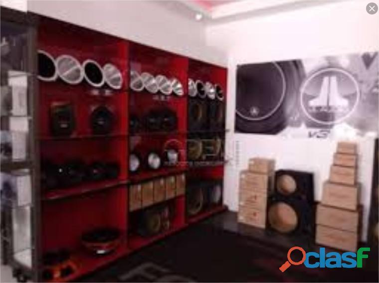 Venda de loja distribuidora de som e acessorios automotivo