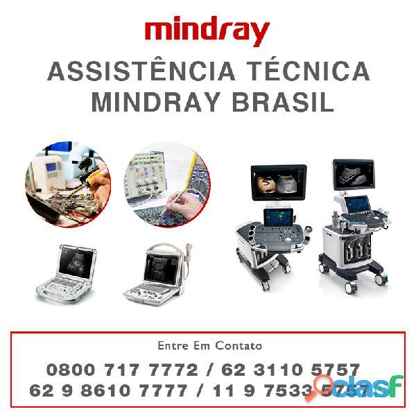 62 9 8610 7777   assistência técnica mindray brasil