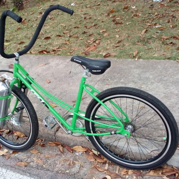 Bicicleta caloi ceci customizada