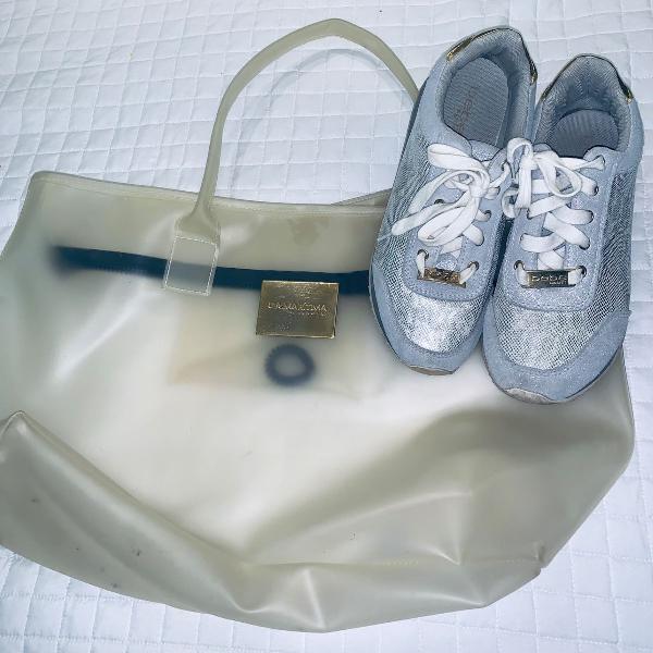 Bolsa cia marítima + tênis bebe (eua)