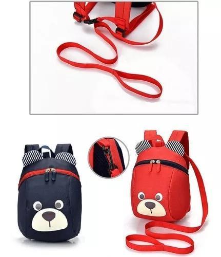 Bolsa mochila p/ bebê bolsa criança cor azul ou vermelho