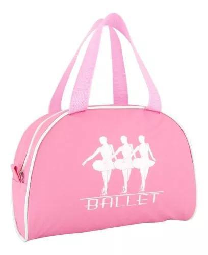 Bolsa Para Ballet Rosa Infanto Juvenil