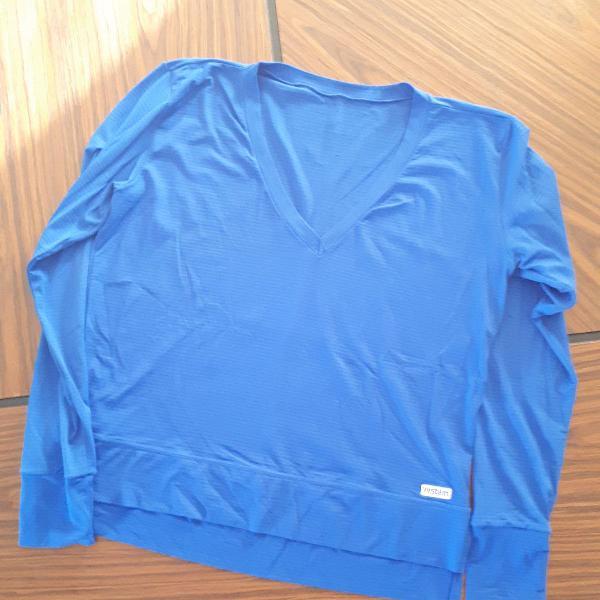 Camisa manga 3/4 pra malhar