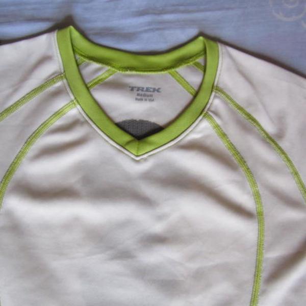 Camisa blusa ciclismo bike pedal feminina trek m