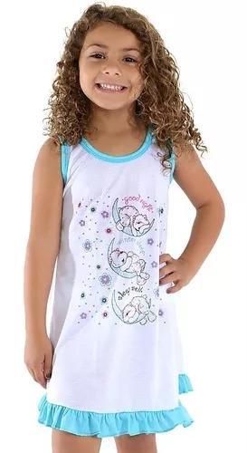 Camisola infantil estampada pijama f