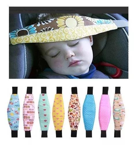 Kit 2 faixa segurança cabeça cadeirinha soninho criança