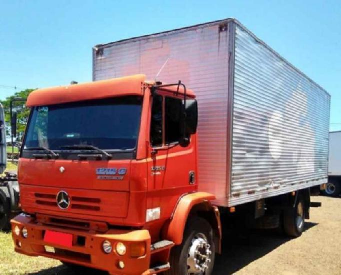 Mercedes-benz mb 1215 2000 baú furgão toco 4x2