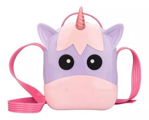 Mini melissa bag unicorn rosa lilas