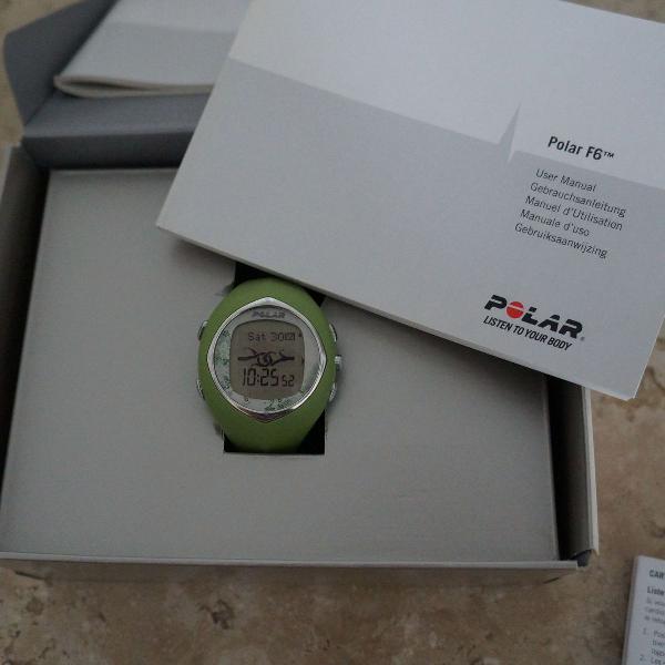 Relógio polar feminino
