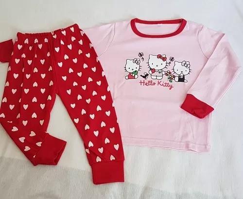 Roupa menina criança conjunto pijama frio tam2 importado