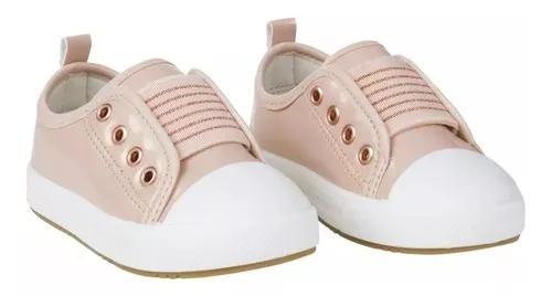Tênis bebê menina rosa criança pimpolho barato