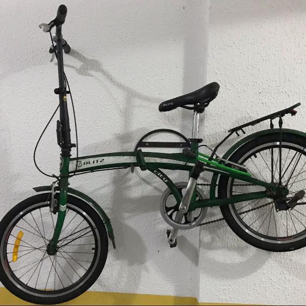Bicicleta blitz dobrável
