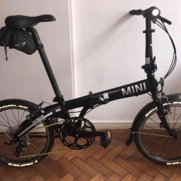 Bicicleta mini cooper dobrável