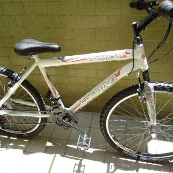 Bicicleta mountain bike stone smart gt 21 marchas nova