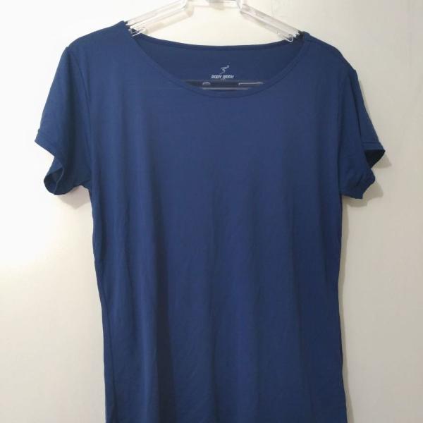 Blusa fitness azul